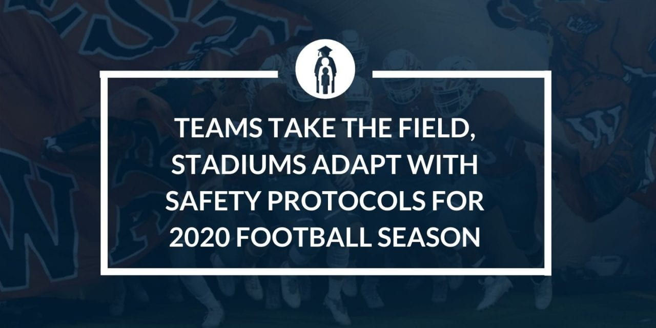Teams take the field, stadiums adapt with safety protocols for 2020 Football Season