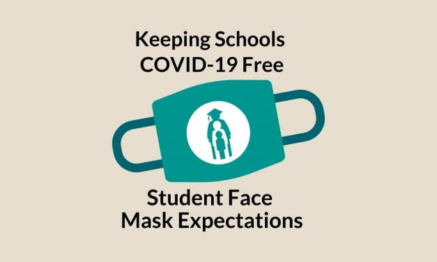 Keeping Schools COVID-19 Free: Student Face Mask Expectations