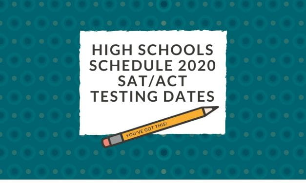 High schools schedule 2020 SAT/ACT test dates