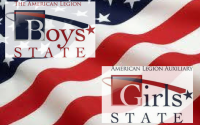 Boy's and Girl's State Delegates