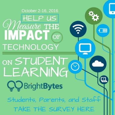 Take the BrightBytes survey at https://bbyt.es/start/7Z6MC
