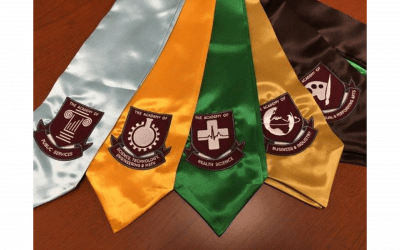 Stoles for Academy Graduates