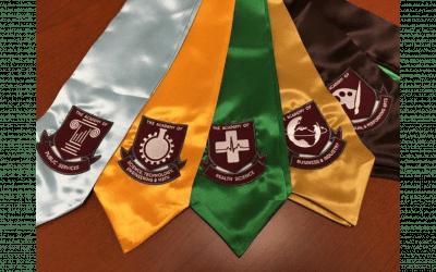 Stoles for Academy Graduates