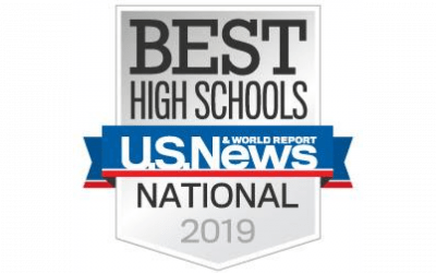 U.S. News & World Report Names RRHS one of the Best High Schools in 2019