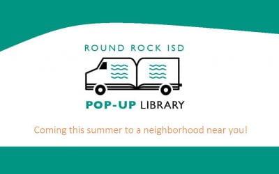 RRISD 2019 Summer Pop-up Library