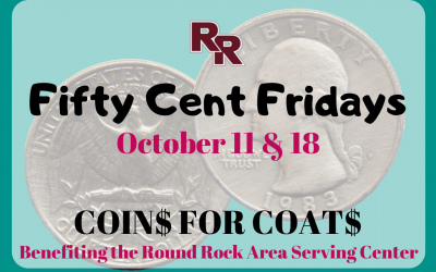 Fifty Cent Fridays Benefit Coins For Coats