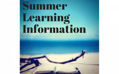 Summer Learning Update