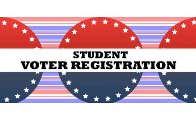 Drive-Through Student Voter Registration at RRHS