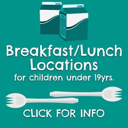 Breakfast and Lunch Pick-up Locations
