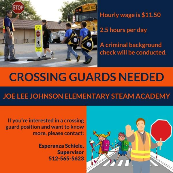 Crossing Guards Needed - Apply Now!