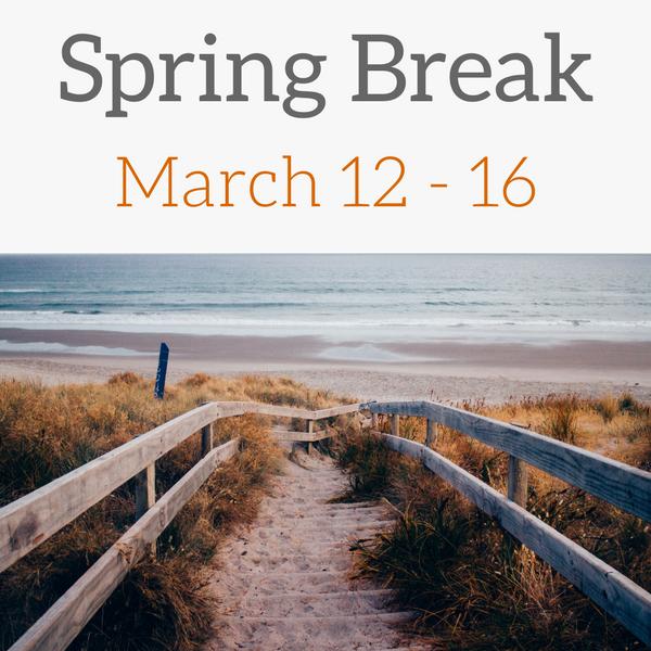 Winter Break December 22 through January 8