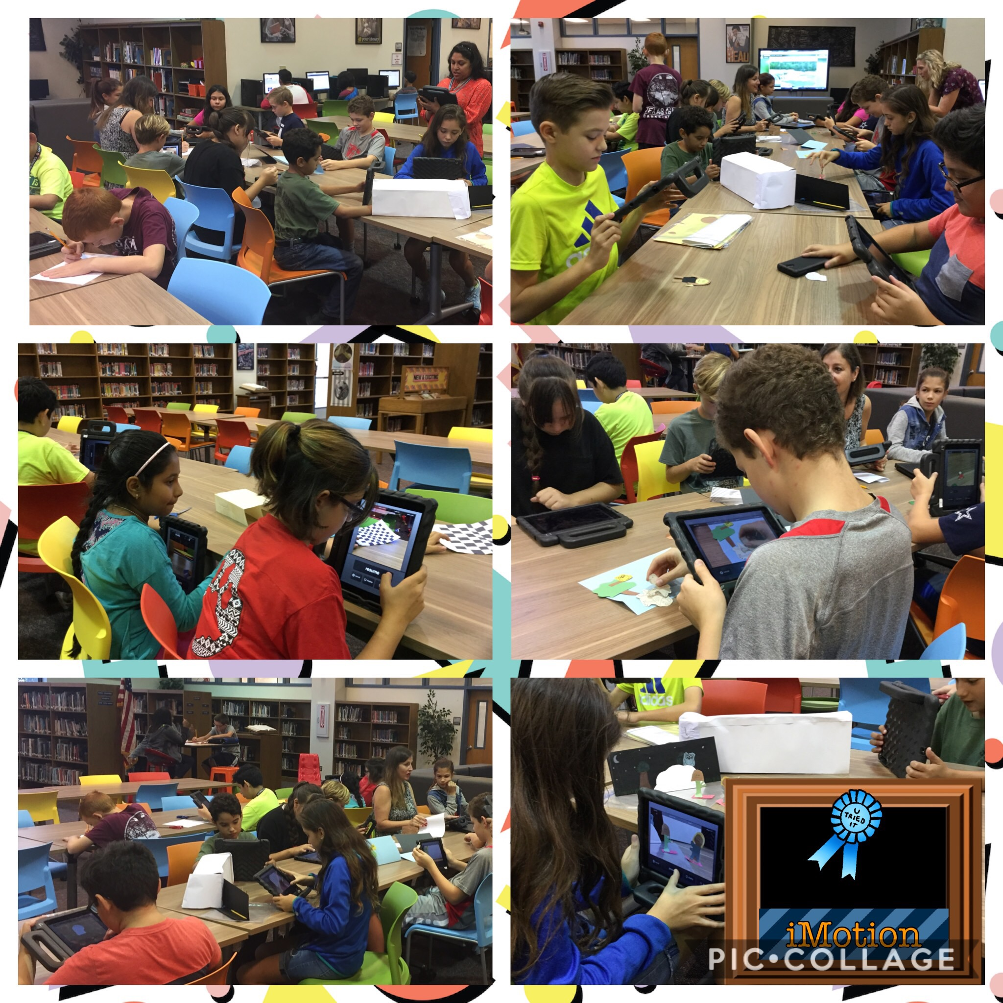Scene Summary with iMotion – CTMS   Chisholm Trail Middle School