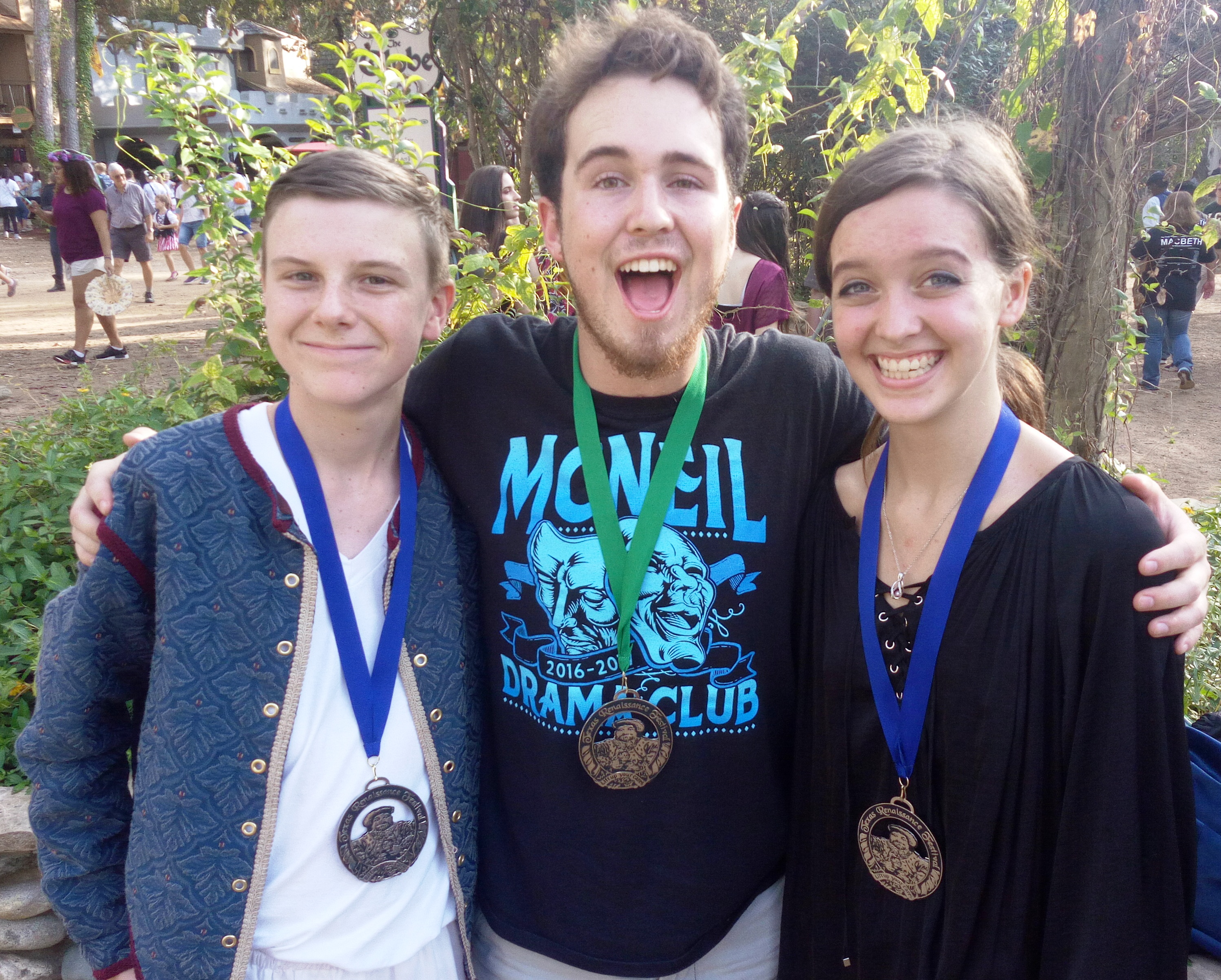 McNeil Theatre wins at Texas Renaissance Festival