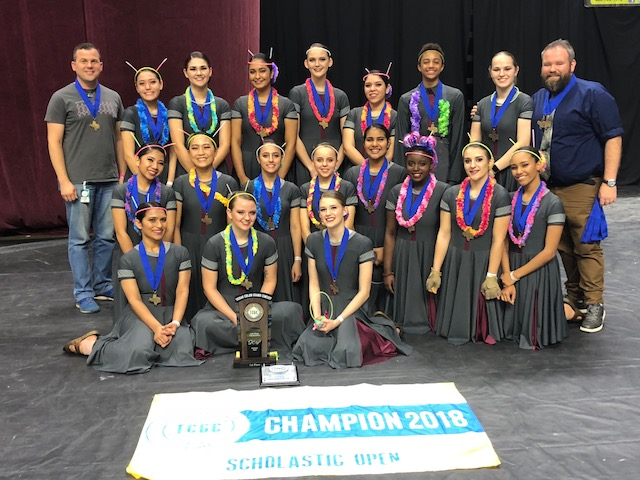 McNeil High School Varsity Winterguard places 4th in the world!