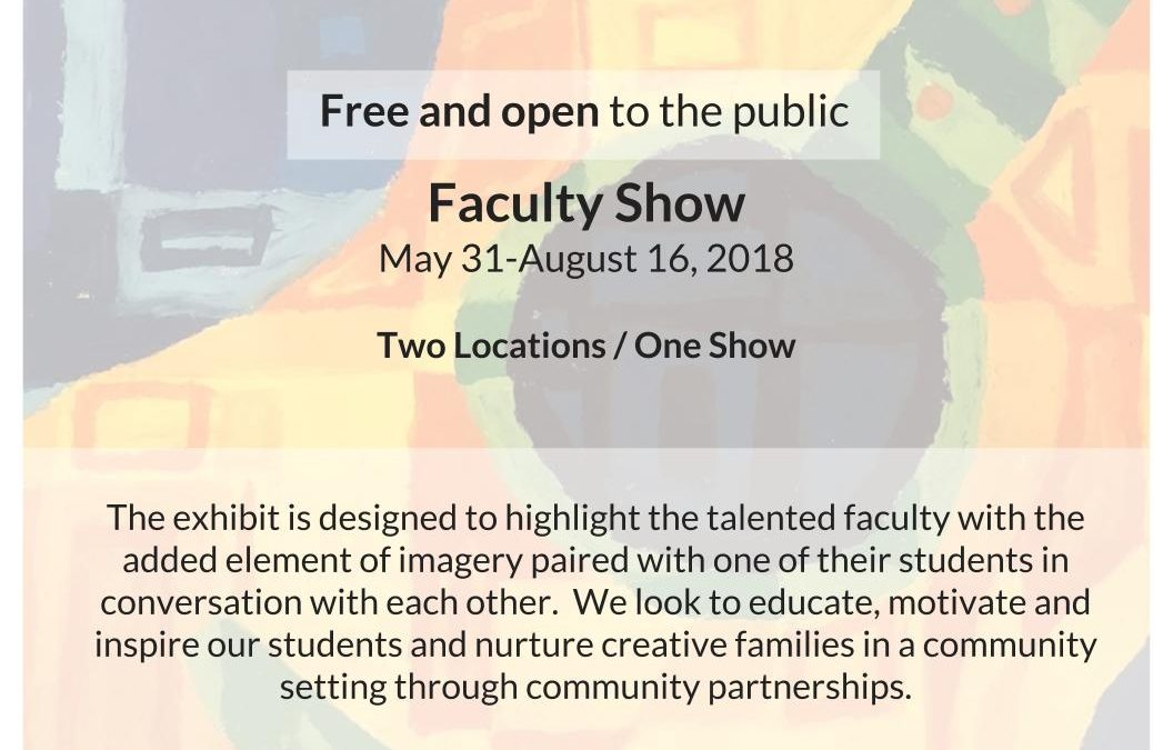 2018 Visual Arts Faculty Show on Display