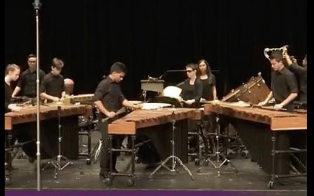 Cedar Ridge Percussion scores 1st Place