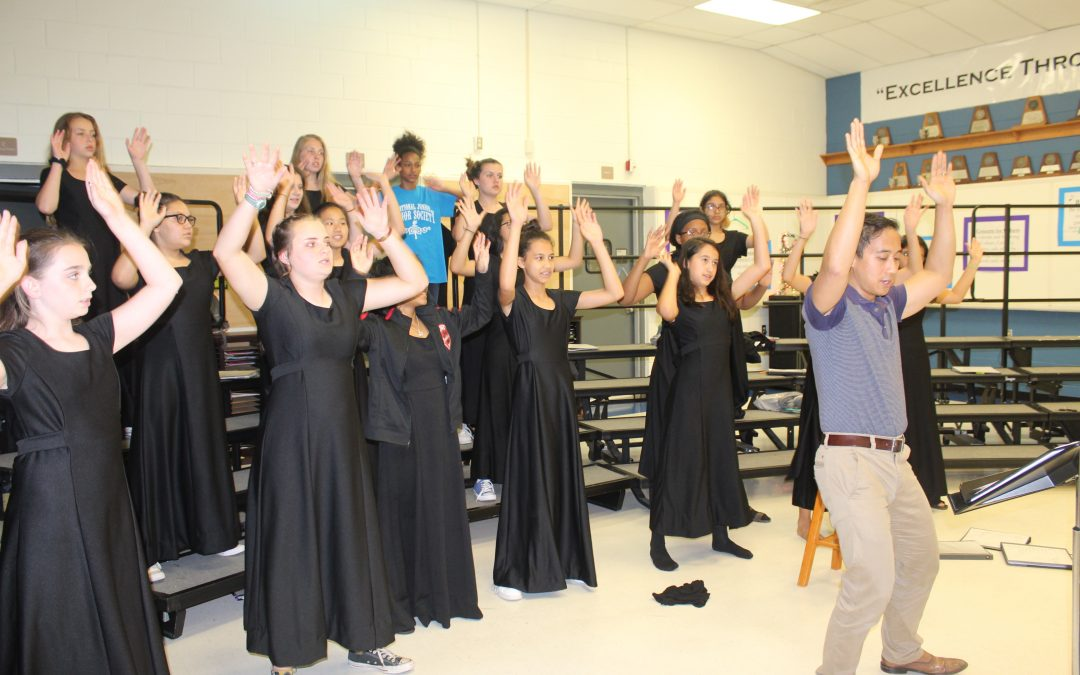 Chisholm Trail Middle School Choir to sing at MASS