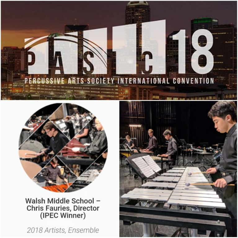 Walsh Percussion to perform at PASIC