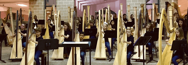 10th Annual Round Rock ISD Harp Ensemble Festival