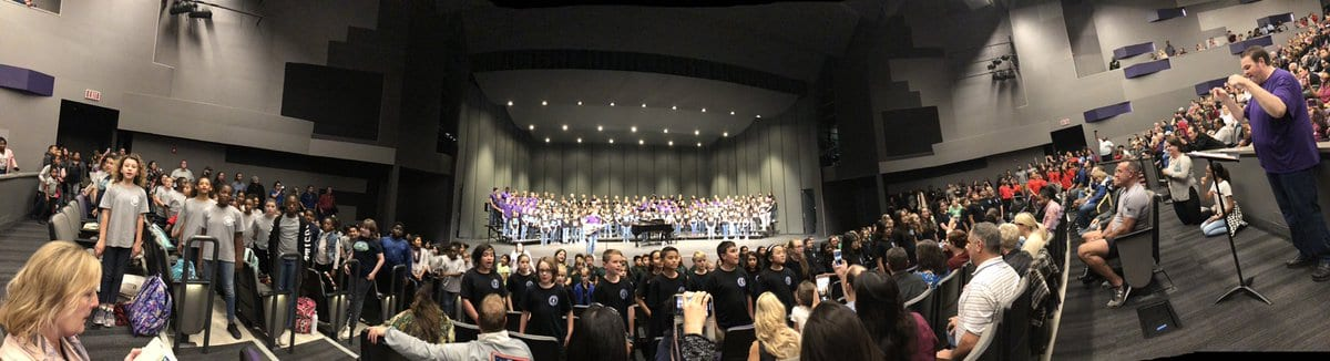 Round Rock ISD Learning Community Choirs take the stage!