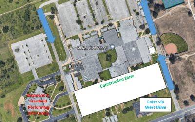 Performing Arts Center Access Altered – November 3rd