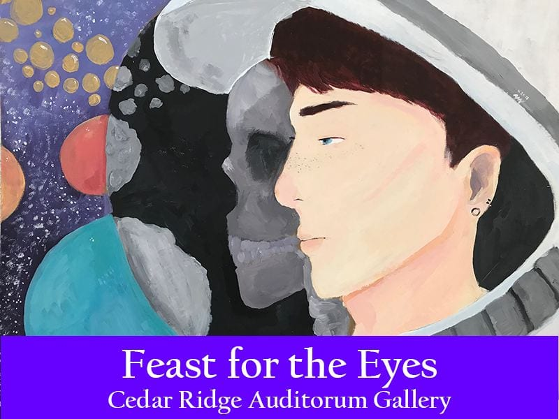 Feast for the Eyes opens at Cedar Ridge Auditorium Gallery