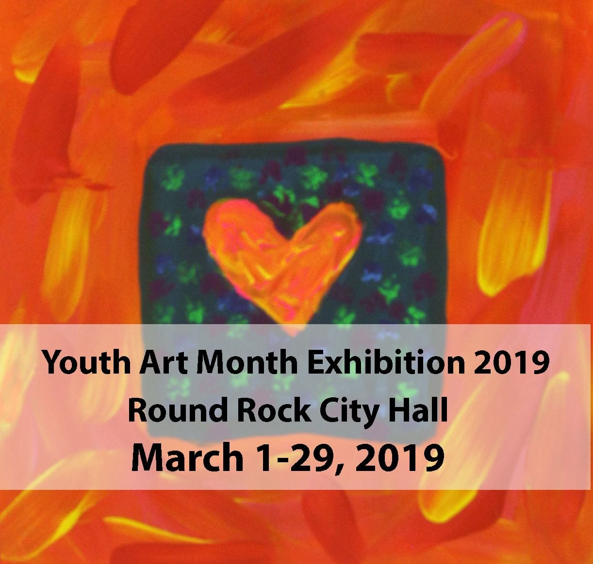 Youth Art Month Exhibition showcased at Round Rock City Hall