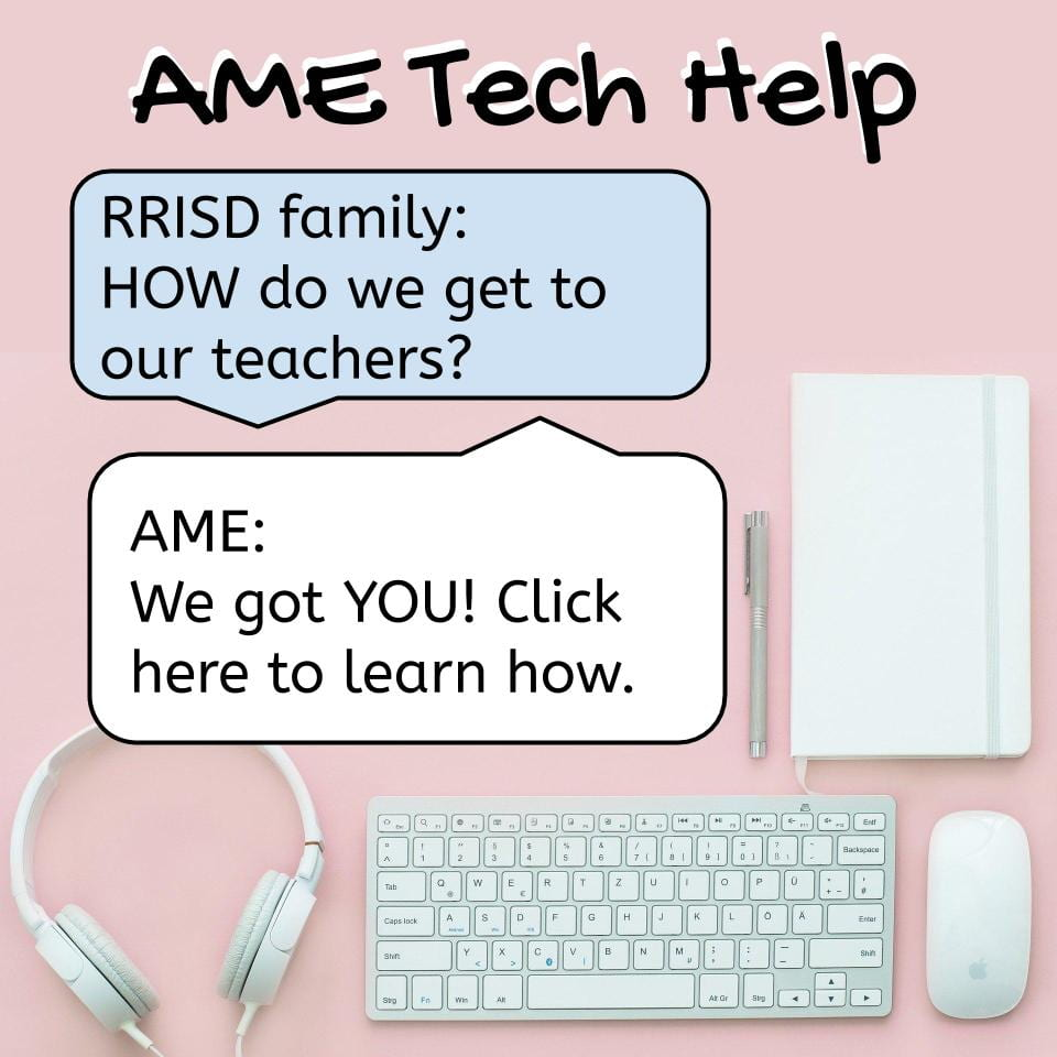 AME Tech Help Click here to learn more