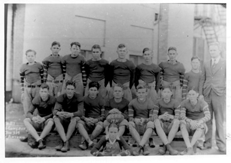 1931-RRHS-football-team