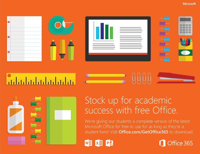 Office A1 Completely free online version of Office with email, video conferencing, customized hub for class teamwork with Microsoft Teams, compliance tools, and information protection.