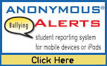anonymous alerts button