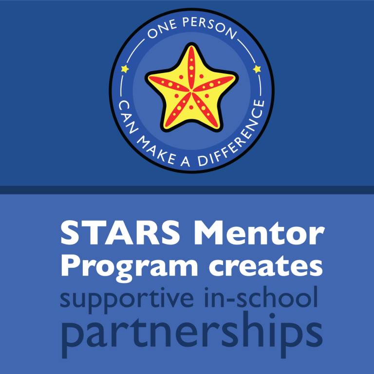 STARS Mentor Program creates supportive in-school partnerships
