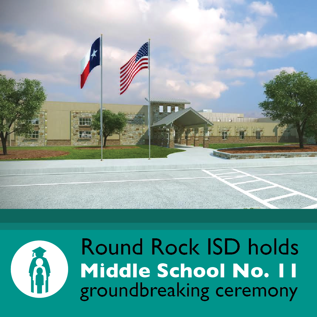 RRISD holds Middle School No. 11 groundbreaking ceremony