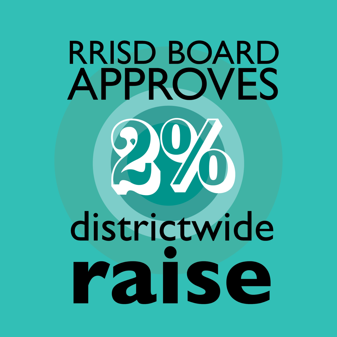 RRISD Board approves 2 percent district-wide increase