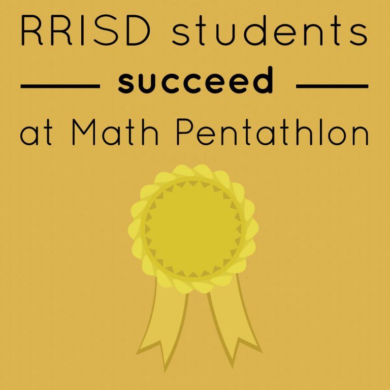 RRISD students succeed at Math Pentathlon