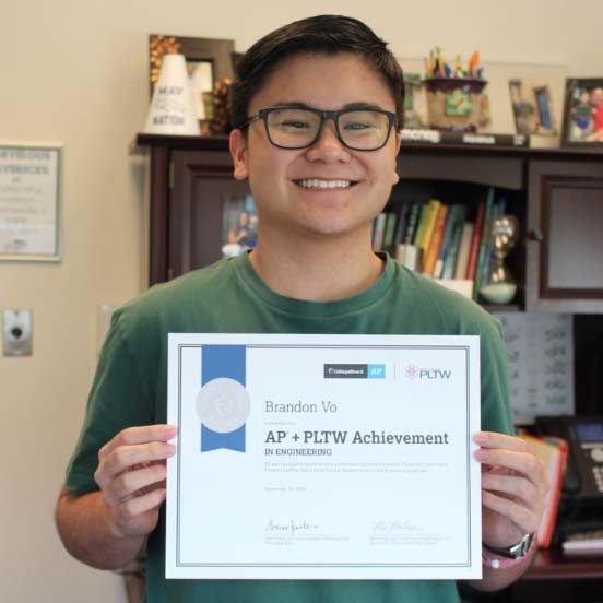 McNeil senior earns recognition for engineering