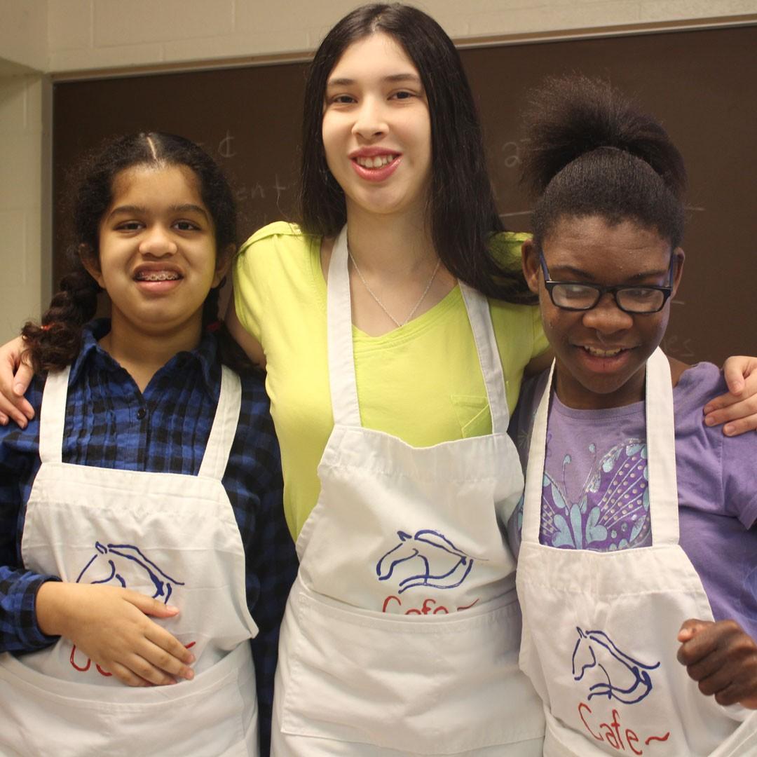 Canyon Vista FAC students build communication skills in 'Mustang Cafe'