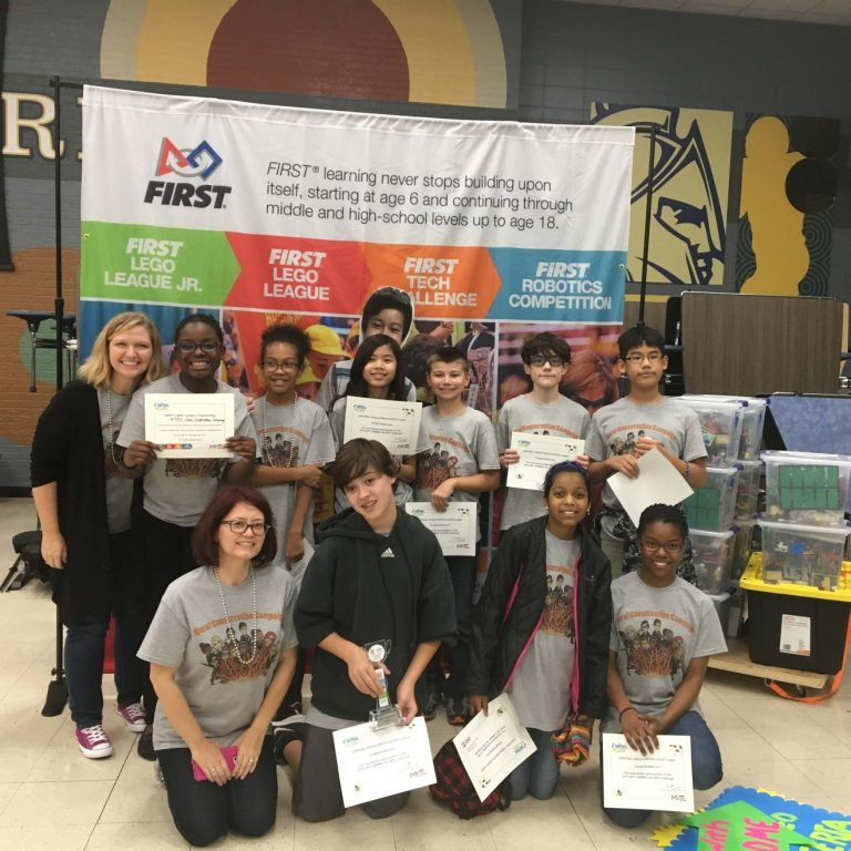 Deerpark Robotics team wins first, advances to Regionals