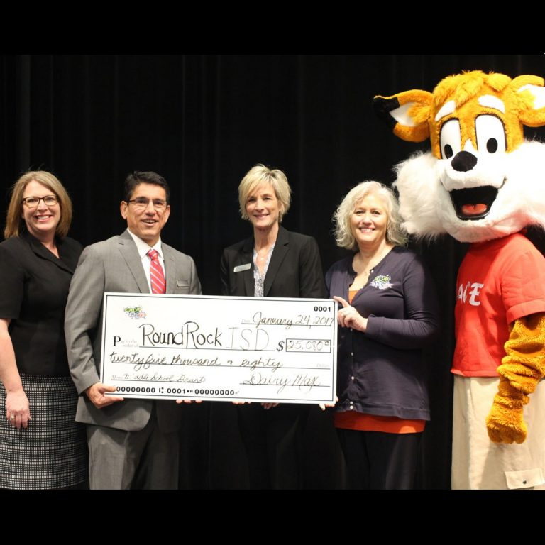 RRISD Athletics, Food Services receive $25K 'Fuel Up to Play 60' Grant