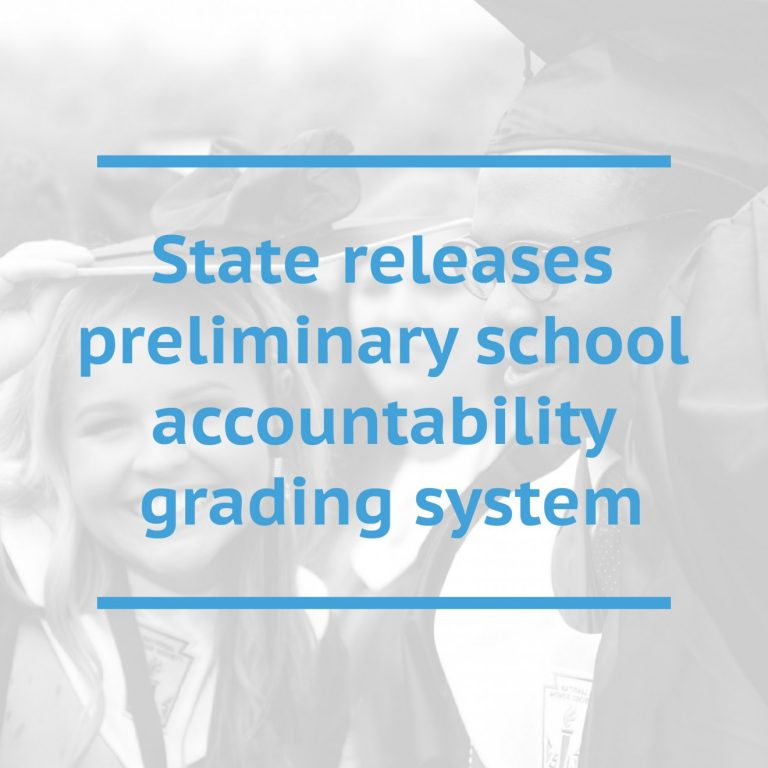 State releases preliminary school accountability grading system