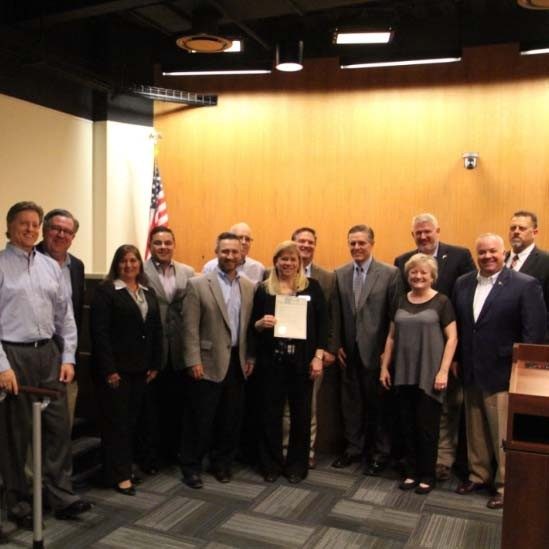 RRISD Mentor program receives proclamation from City