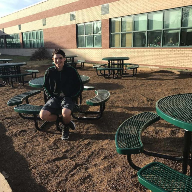 Innovative Outdoor Classroom ~ District grant funds mcneil outdoor classroom project led