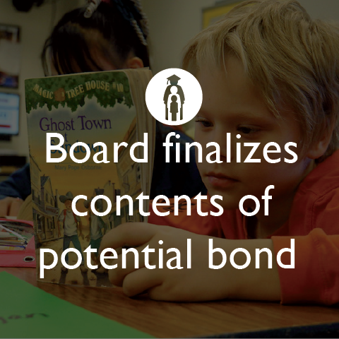 Board finalizes contents of potential bond
