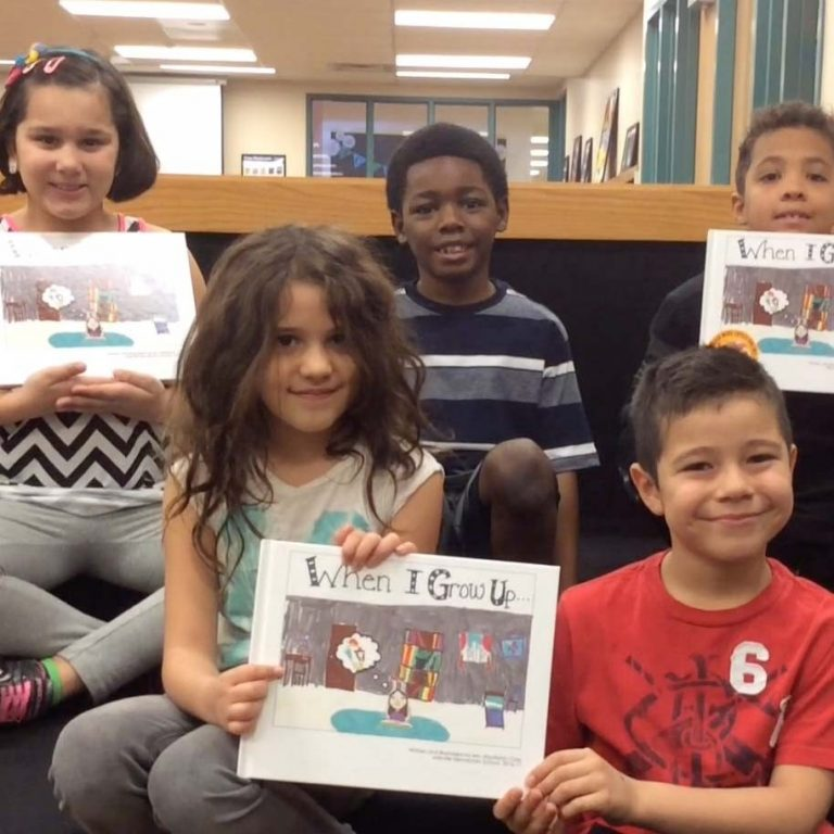 VIDEO: Jollyville second grade publishes book