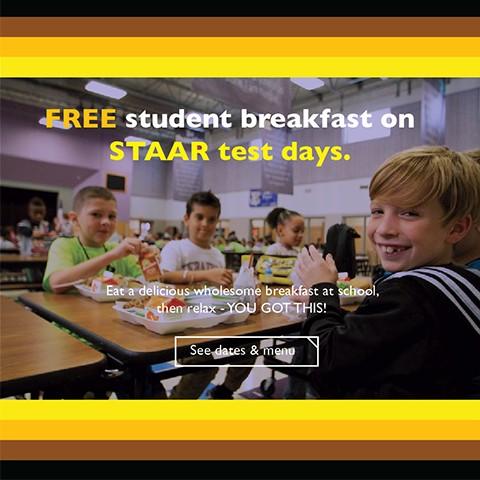 RRISD to provide free breakfast during STAAR testing