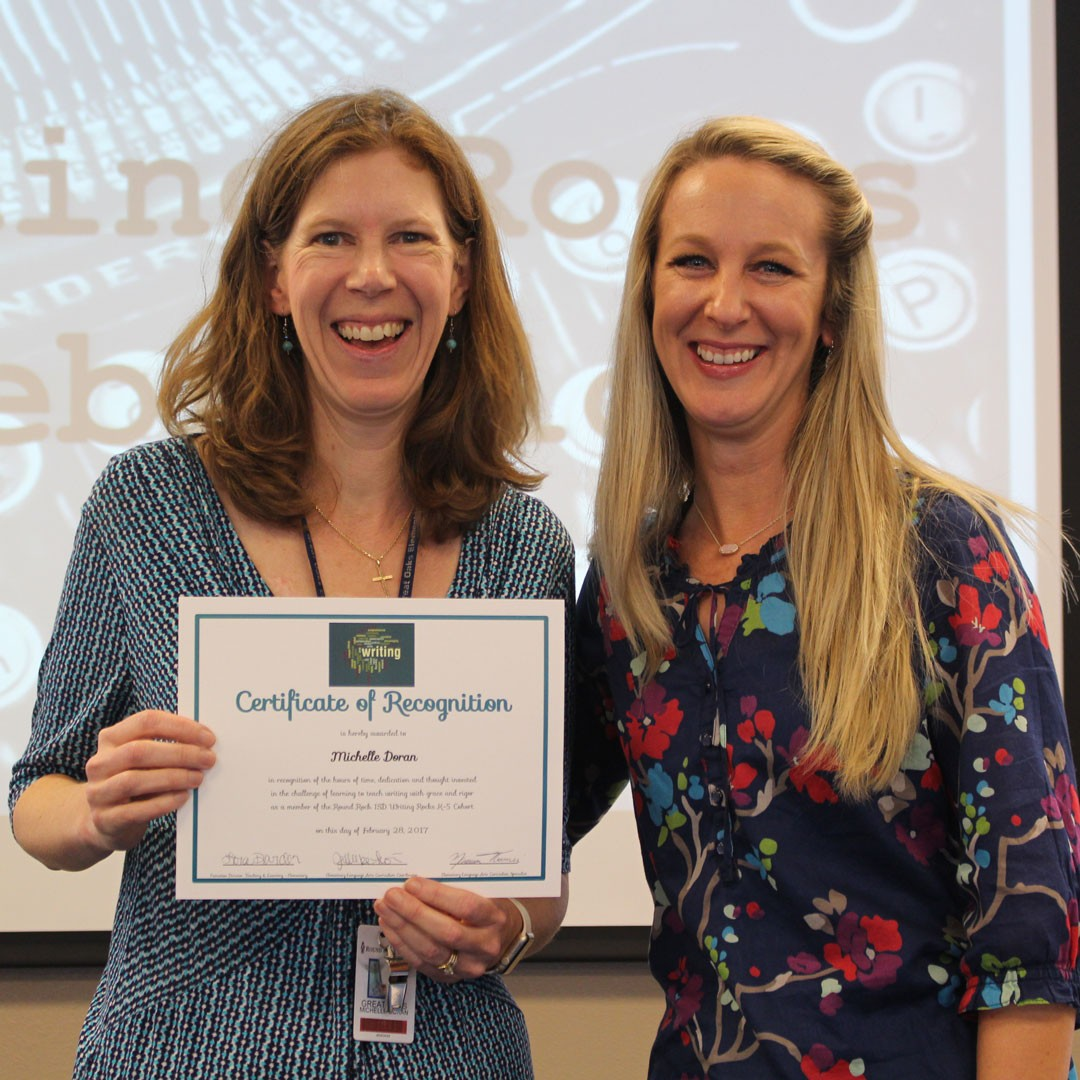 Writing Rocks cohort celebrates graduation