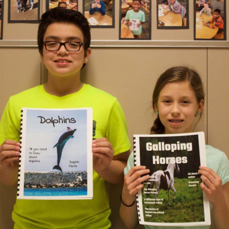 Jollyville students self-publish magazine