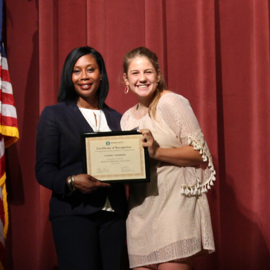 Student leaders honored at annual recognition ceremony