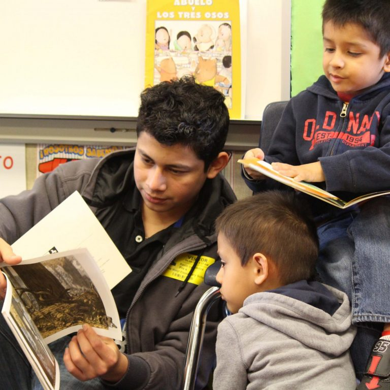 Voigt, Success ELL students partner for literacy