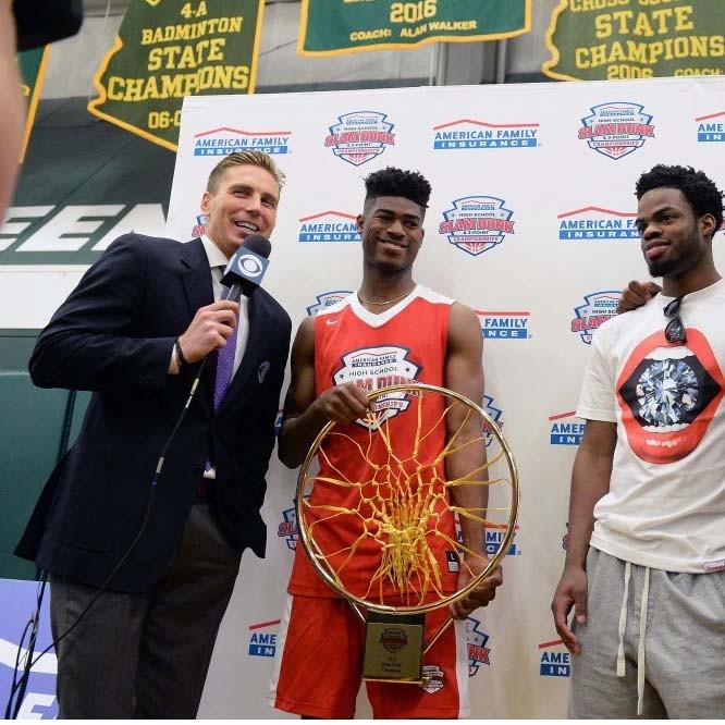 McNeil senior wins national basketball dunk championship